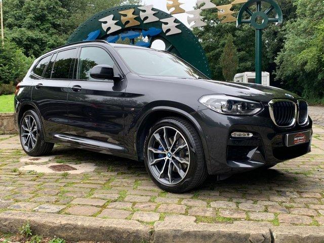 2018 68 BMW X3 2.0 XDRIVE20D M SPORT 5d 188 BHP