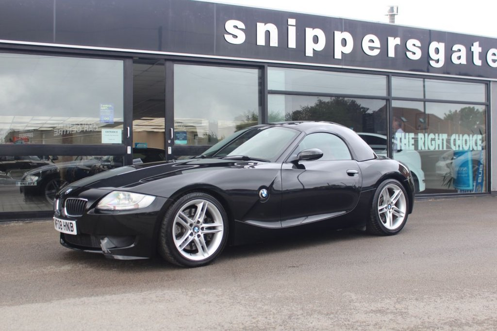 USED 2008 08 BMW Z4 3.2 Z4 M ROADSTER 2d 338 BHP Sapphire Black Metallic Z4 M Roadster, Removable Hardtop With Storage Rack, Piano Black Interior Trim, Storage Compartment Package, Auto Dim rear View Mirror, Cruise Control, Electric Memory Seats, Heated Seats, Bluetooth Phone and Audio, 6 Disc CD Changer, On-Board Computer, Rain Sensor, Xenon Headlights, Multi Function Steering Wheel, Wind Deflector, 2 Keys Book Pack and Receipt File, Previously Supplied By Ourselves, Full Service History - Just Serviced.