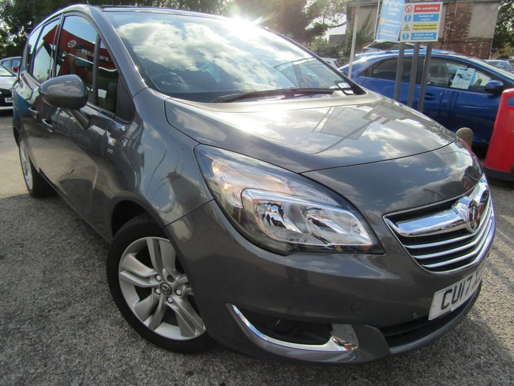 USED 2017 17 VAUXHALL MERIVA 1.4 SE 5d 118 BHP Wow immaculate ** lowest miles ** panoramic roof ** Half leather seats ** One owner**Best condition **Service history ** Part Exchange welcome ** Low rate PCP ** Click & Collect or Click & deliver ** Buy locally value checked