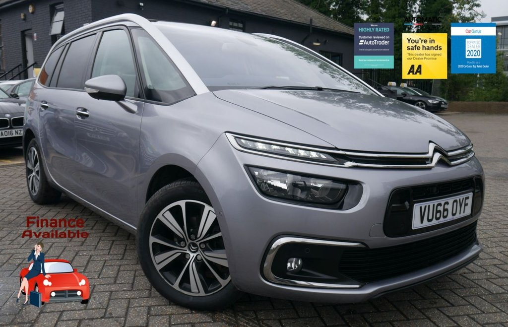 USED 2017 66 CITROEN C4 GRAND PICASSO 1.6 BLUEHDI FLAIR S/S EAT6 5d 118 BHP 2 KEYS ULEZ FREE NAVIGATION
