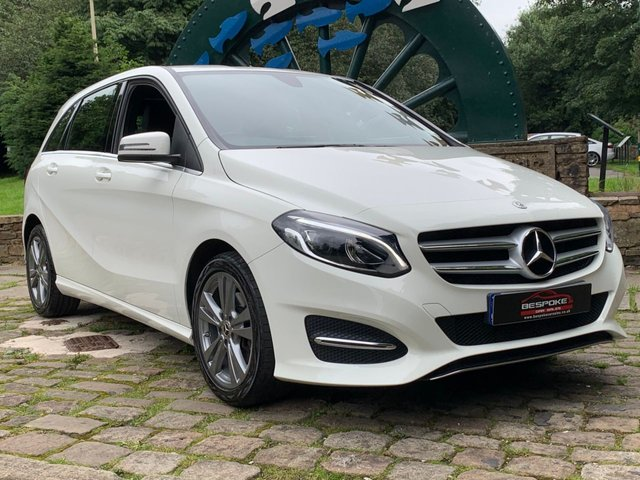 2018 67 MERCEDES-BENZ B-CLASS 1.6 B 200 EXCLUSIVE EDITION 5d 154 BHP