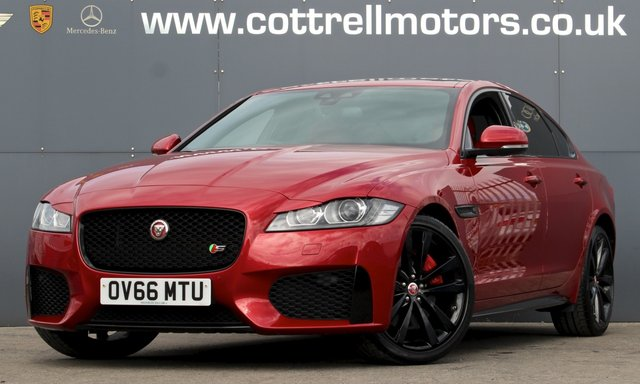 2016 66 JAGUAR XF 3.0 V6 S 4d 296 BHP [ SUNROOF ]