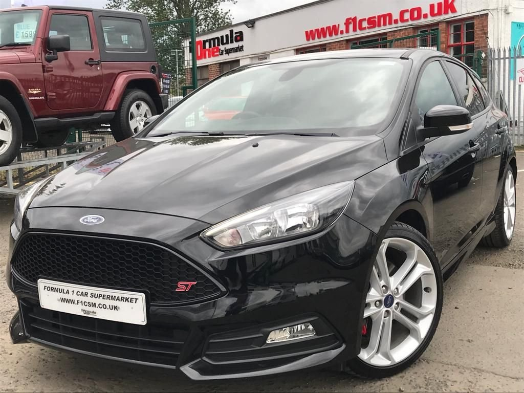 USED 2018 18 FORD FOCUS 2.0 ST-2 5d 247 BHP ONLY 2600 MILES+SAT NAV+BLUETOOTH+BEST VALUE ON WEB+DRIVE AWAY TODAY!!!!