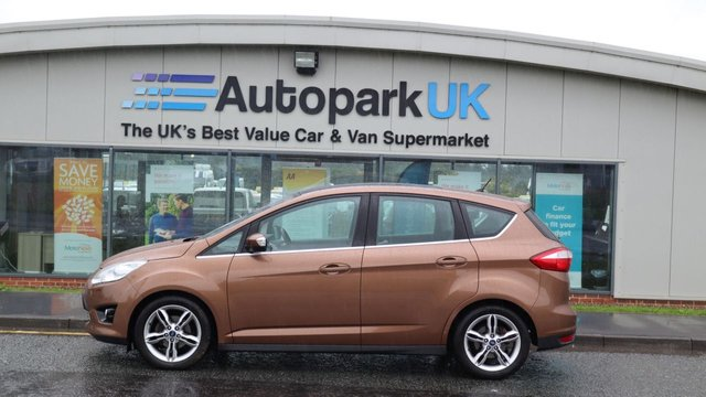 USED 2013 63 FORD C-MAX 1.6 TITANIUM X TDCI 5d 114 BHP LOW DEPOSIT OR NO DEPOSIT FINANCE AVAILABLE