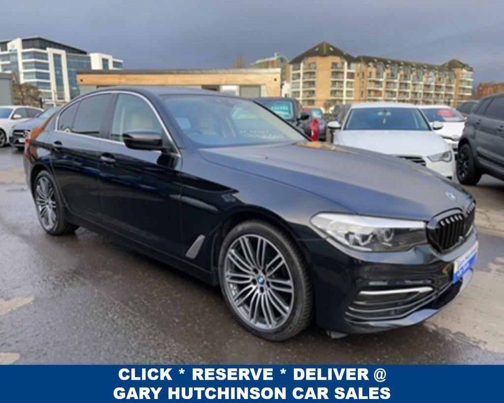 USED 2017 17 BMW 5 SERIES 520D SE AUTO 4dr 188 BHP