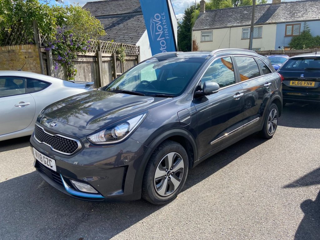 USED 2018 18 KIA NIRO 1.6 3 PHEV 5d 104 BHP ( 22 miles range on full electric )