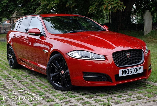 2015 15 JAGUAR XF 2.2d  R-SPORT BLACK SPORTBRAKE [200 BHP] AUTO 5 DOOR ESTATE