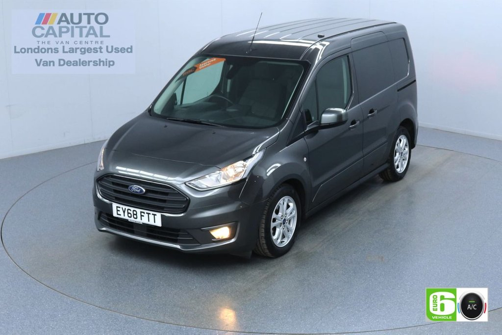 USED 2018 68 FORD TRANSIT CONNECT 1.5 240 Limited 120 BHP L1 SWB 3 Seats Euro 6 Low Emission Finance Available Online | Keyless | Rear Tow Fitted