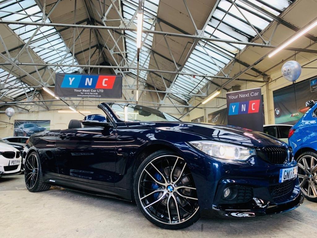 USED 2017 17 BMW 4 SERIES 2.0 420d M Sport 2dr PERFORMANCEKIT+COMFORTPACK+20s