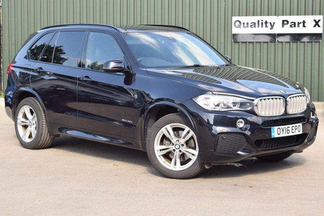 USED 2016 16 BMW X5 2.0 40e 9.0kWh M Sport Auto xDrive (s/s) 5dr CALL FOR NO CONTACT DELIVERY