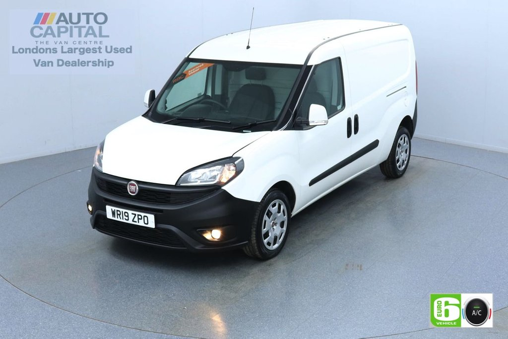 USED 2019 19 FIAT DOBLO 1.6 16V SX MAXI MULTIJET II 105 BHP Euro 6 Low Emission Finance Available Online | Air Con | Rear parking sensors