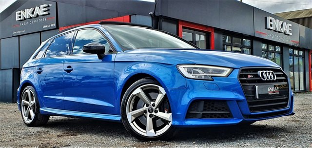 2018 18 AUDI S3 2.0 S3 TFSI QUATTRO BLACK EDITION TOP SPEC FULLY LOADED