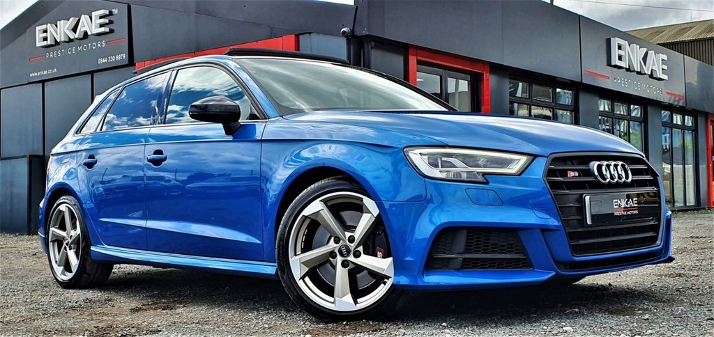 USED 2018 18 AUDI S3 2.0 S3 TFSI QUATTRO BLACK EDITION TOP SPEC FULLY LOADED