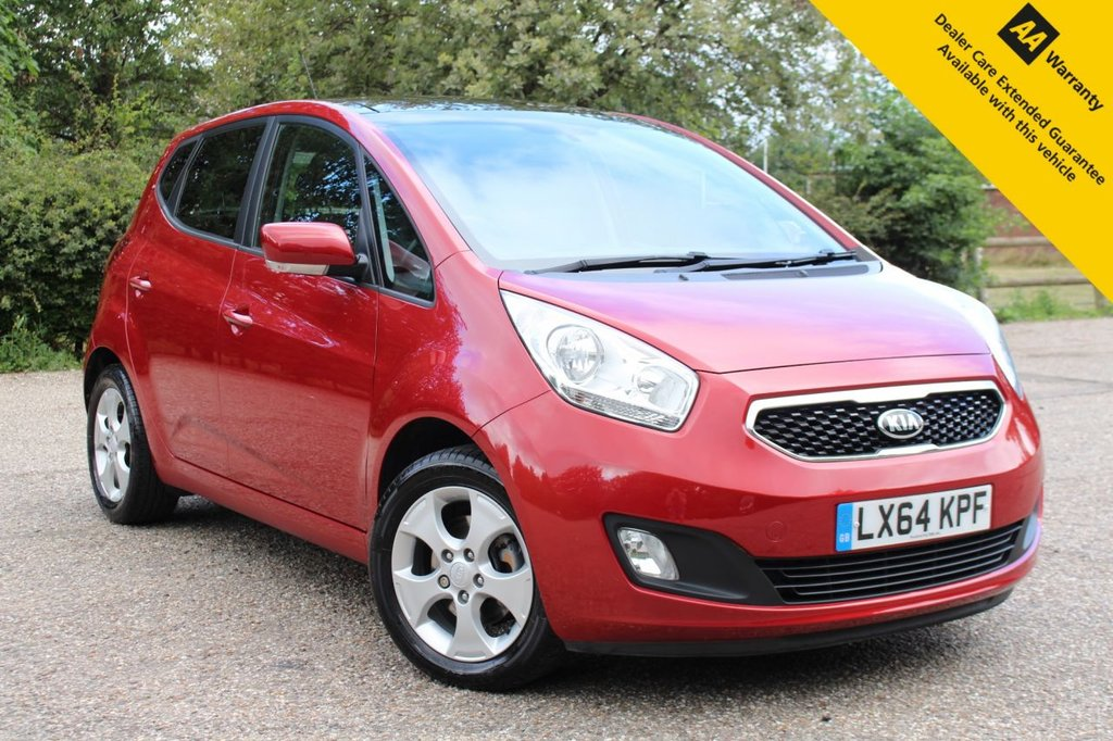 USED 2014 64 KIA VENGA 1.6 3 5d 123 BHP ** FAULTLESS FULL KIA MAIN DEALER SERVICE HISTORY ** BRAND NEW ADVISORY FREE MOT - EXPIRY JULY 2021 ** KIA MANUFACTURE WARRANTY UNTIL OCTOBER 2021 ** REAR PARKING AID ** PANORAMA ELECTRIC OPERATED SLIDE AND TILT SUNROOF ** HEATED FRONT SEATS ** CRUISE CONTROL ** BLUETOOTH ** POWER FOLD MIRRORS ** ULEZ CHARGE EXEMPT ** £0 DEPOSIT FINANCE AVAILABLE **