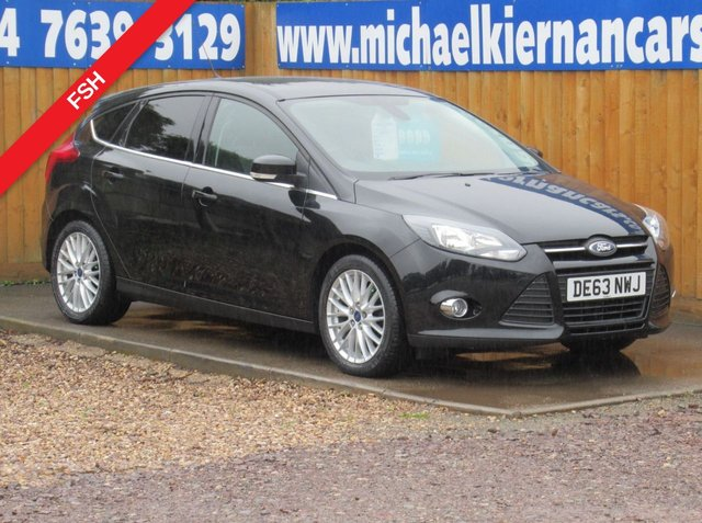 USED 2013 63 FORD FOCUS 1.6 ZETEC TDCI 5d 113 BHP LOVELY CAR
