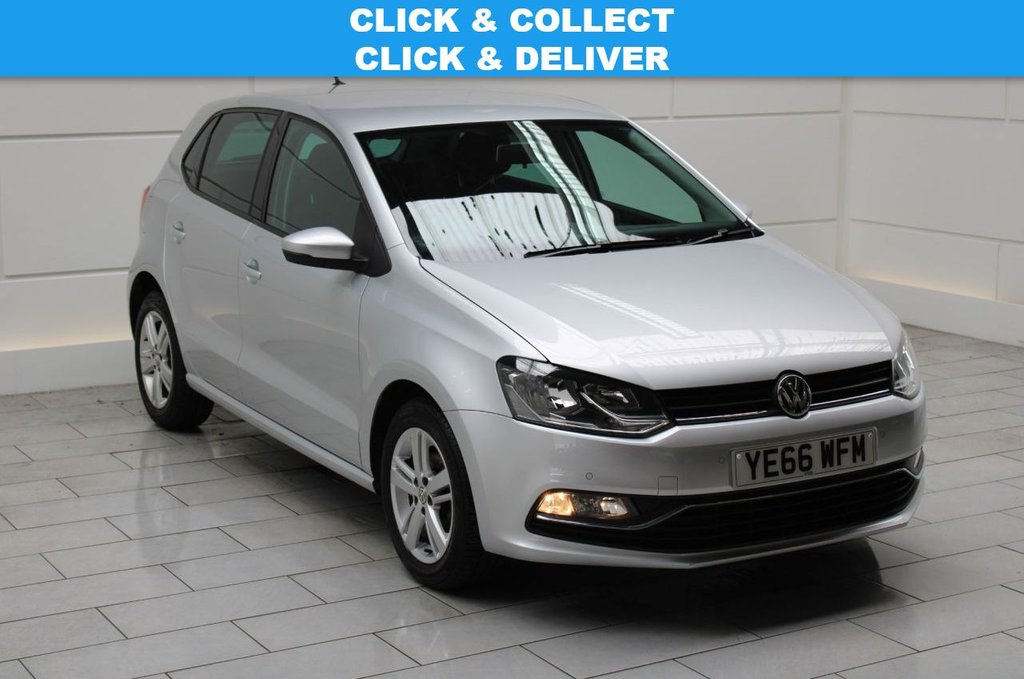 USED 2016 66 VOLKSWAGEN POLO 1.2 TSI BlueMotion Tech Match (start/stop)