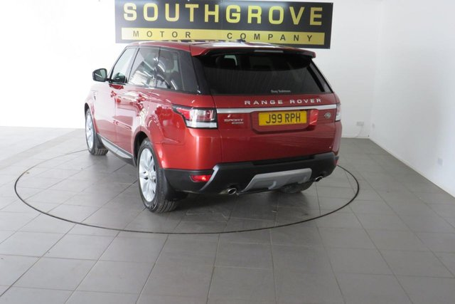 USED 2013 J LAND ROVER RANGE ROVER SPORT 3.0 SDV6 HSE 5d 288 BHP