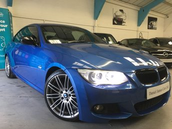 2013 BMW 3 SERIES 2.0 320D ESTORIL INDIVIDUAL PERFORMANCE EDITION M SPORT 2d 181 BHP