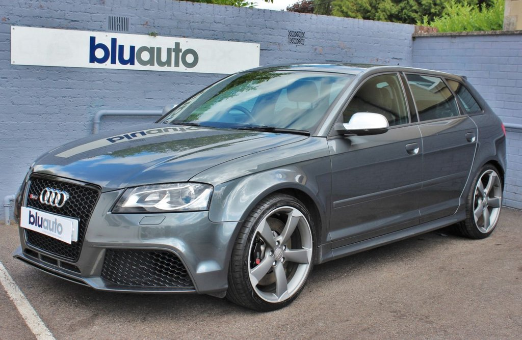 USED 2012 12 AUDI A3 2.5 RS3 QUATTRO 5d 340 BHP 9 Audi Services, Leather, Sat Nav, Heated Seats, Climate and Cruise control.......