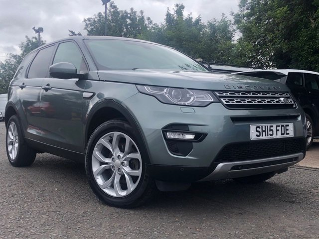 2015 15 LAND ROVER DISCOVERY SPORT 2.2 SD4 HSE 5d AUTO 190 BHP