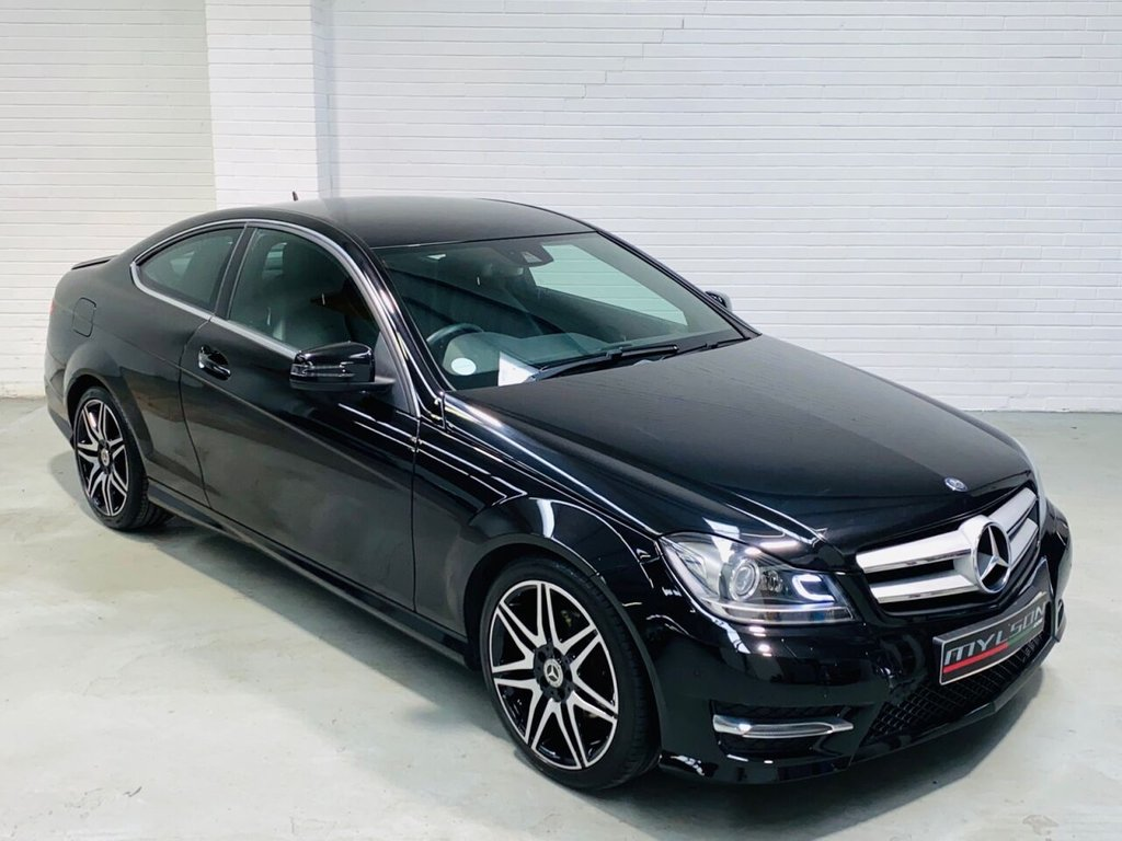 USED 2013 63 MERCEDES-BENZ C-CLASS 2.1 C220 CDI BLUEEFFICIENCY AMG SPORT PLUS 2d 168 BHP AMG Sport Plus Pack, COMAND Online Media/Navigation System + Electric Memory Seats