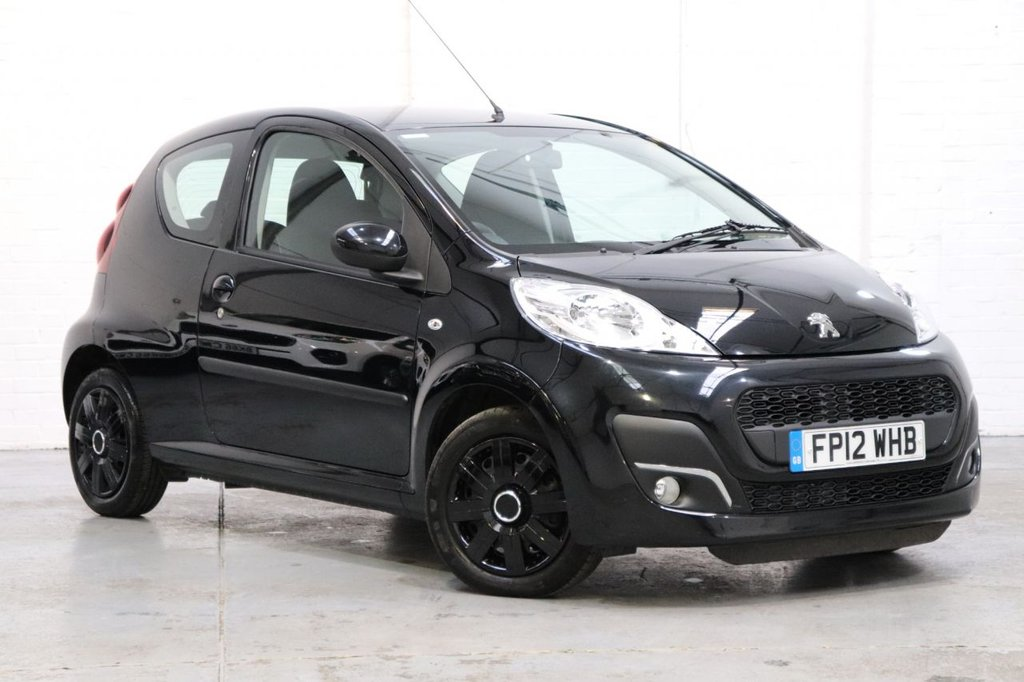 USED 2012 12 PEUGEOT 107 1.0 ACTIVE 3d 68 BHP Full Peugeot Service History