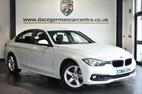 """USED 2016 65 BMW 3 SERIES 2.0 316D SE 4DR 114 BHP Finished in a stunning mineral metallic white styled with 17"""" alloys. Upon opening the drivers door you are presented with anthracite upholstery, full service history, satellite navigation, bluetooth, DAB radio, cruise control, Automatic air conditioning, rain sensors, Connected Drive Services, Interior mirror with automatic-dip, parking sensors"""