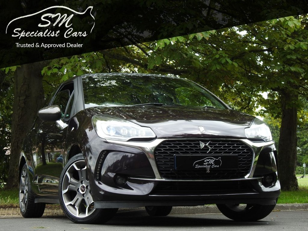 USED 2016 16 DS DS 3 1.6 THP ULTRA PRESTIGE S/S 3d 161 BHP ONLY 32K LEATHER A/C VGC