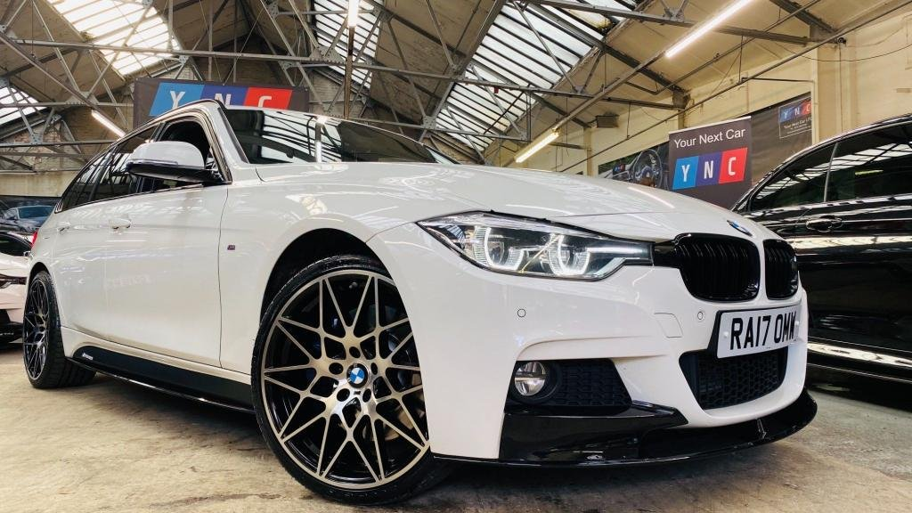 USED 2017 17 BMW 3 SERIES 3.0 330d M Sport Touring Auto xDrive (s/s) 5dr PERFORMANCEKIT+20S+PLUSPACK