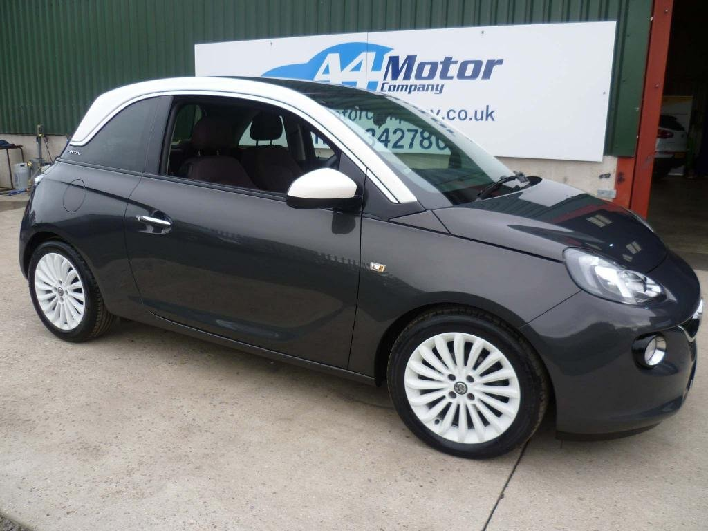 USED 2013 13 VAUXHALL ADAM 1.2 16v GLAM 3dr (5 Seat) LOW INSURANCE GROUP, 1.2cc
