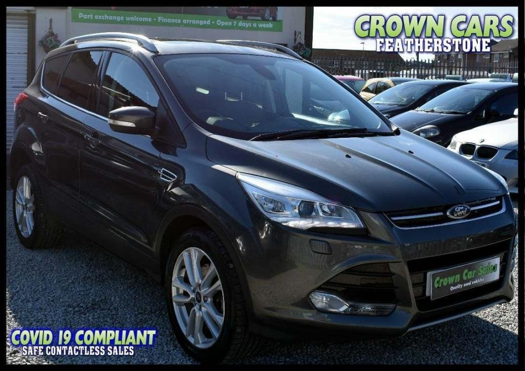 USED 2014 64 FORD KUGA 2.0 TDCi Titanium X 5dr AMAZING LOW RATE FINANCE DEALS