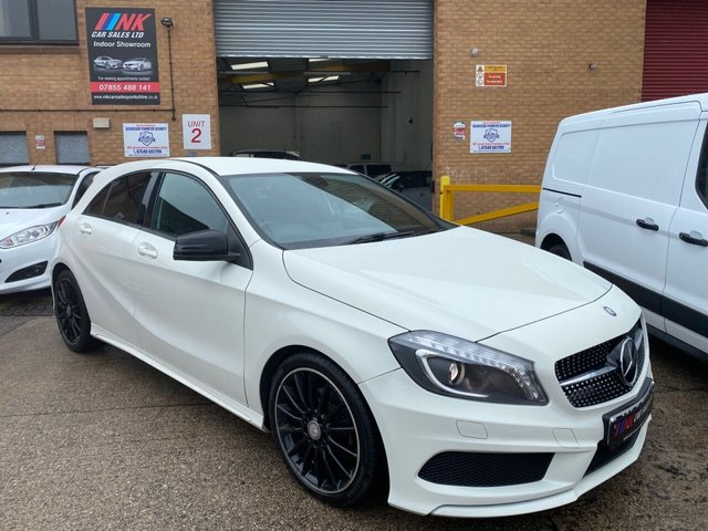 2013 63 MERCEDES-BENZ A-CLASS 1.8 A200 CDI BLUEEFFICIENCY AMG SPORT 5d 136 BHP REVERSE CAMERAS SOLD TO CHARLOTTE FROM DERBY