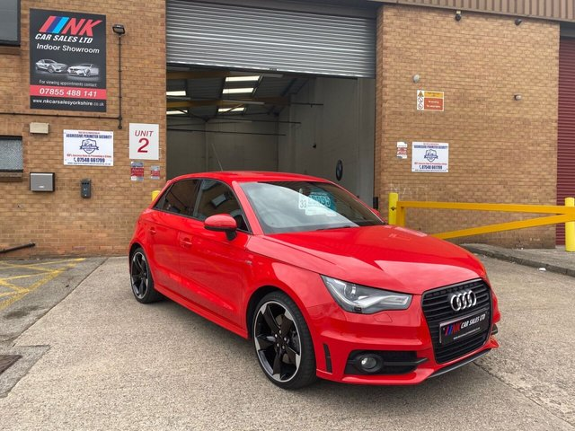 2013 13 AUDI A1 2.0 SPORTBACK TDI BLACK EDITION 5d 141 BHP LOW MILES  RESERVED FOR PETER FROM  ESSEX