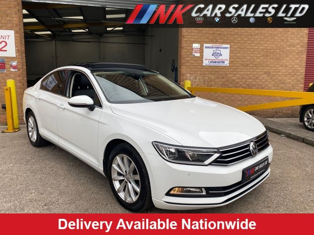 USED 2016 16 VOLKSWAGEN PASSAT 2.0 SE BUSINESS TDI BLUEMOTION TECHNOLOGY 4d 148 BHP RARE  OPENING PAN ROOF MODELPAN ROOF MODEL WITH FULL LEATHERS PAN ROOF