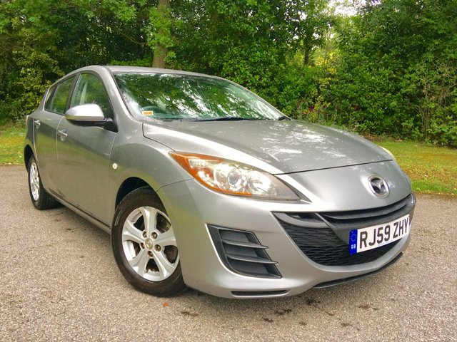 2009 59 MAZDA 3 1.6 TS 5d 105 BHP PART EXCHANGE TO CLEAR/JUST SERVICED WITH NEW FRONT BRAKES AND TYRES