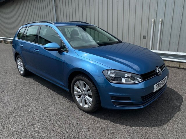 2015 15 VOLKSWAGEN GOLF 1.6 SE TDI BLUEMOTION TECHNOLOGY DSG 105 BHP ESTATE