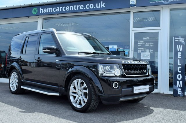 2016 16 LAND ROVER DISCOVERY 4 3.0 SDV6 LANDMARK 5d 255 BHP FACTORY DVDS