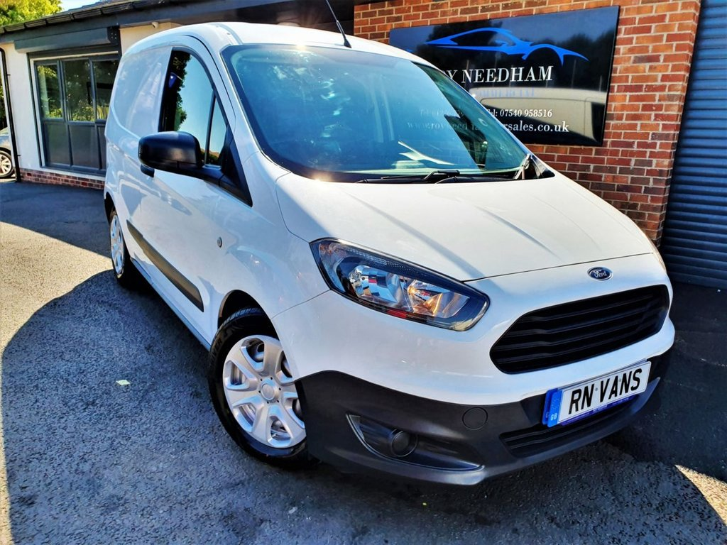 USED 2016 16 FORD TRANSIT COURIER 1.6 TREND TDCI 94 BHP *** DAB - AUTO LIGHTS - VOICE ***