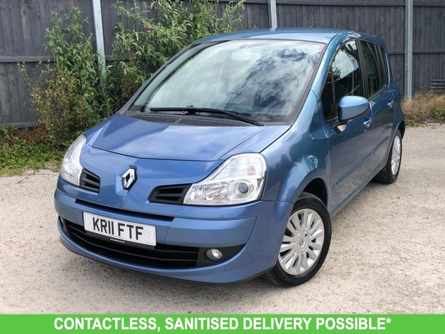 USED 2011 11 RENAULT GRAND MODUS 1.6 DYNAMIQUE VVT 5d 110 BHP AUTOMATIC LOW MILEAGE, AIR CON, FINANCE ME TODAY-UK DELIVERY POSSIBLE