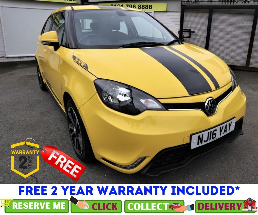 USED 2016 16 MG 3 1.5 3 STYLE VTI-TECH 5d 106 BHP *CLICK & COLLECT OR DELIVERY