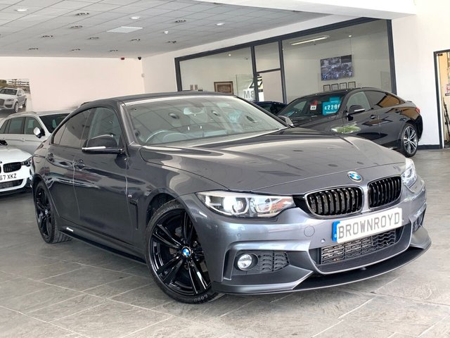 USED 2017 67 BMW 4 SERIES GRAN COUPE 2.0 420D M SPORT GRAN COUPE 4d 188 BHP BM PERFORMANCE STYLING+6.9%APR