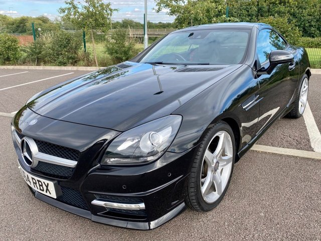 2014 54 MERCEDES-BENZ SLK 1.8 SLK200 BLUEEFFICIENCY AMG SPORT 2d 184 BHP