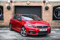 USED 2018 18 PEUGEOT 308 2.0 BLUE HDI S/S GT 5d AUTO 178 BHP