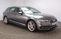 USED 2017 17 AUDI A4 AVANT 2.0 AVANT TDI S LINE 5DR 1 OWNER 148 BHP AUDI SERVICE HISTORY + HALF LEATHER SEATS + SATELLITE NAVIGATION + PARKING SENSOR + BLUETOOTH + CRUISE CONTROL + CLIMATE CONTROL + MULTI FUNCTION WHEEL + XENON HEADLIGHTS + DAB RADIO + ELECTRIC WINDOWS + ELECTRIC/HEATED/FOLDING DOOR MIRRORS + 18 INCH ALLOY WHEELS