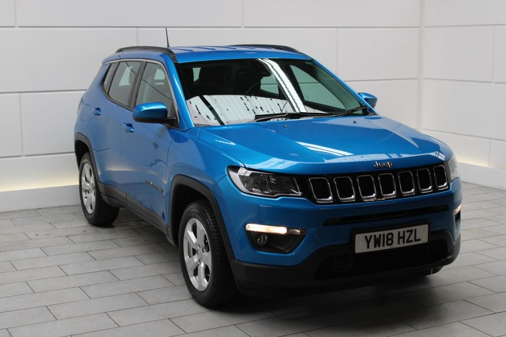 USED 2018 18 JEEP COMPASS 1.4T MultiAirII Longitude (start/stop)
