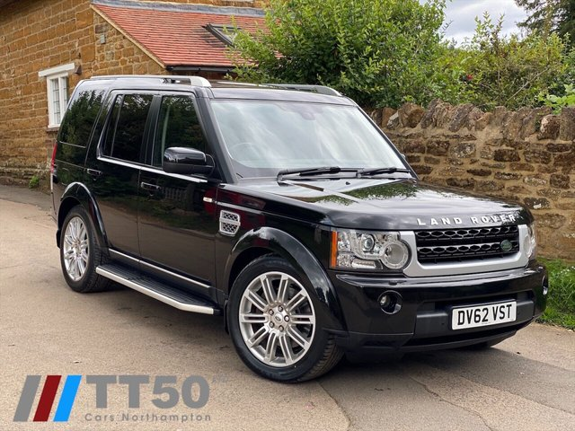2012 62 LAND ROVER DISCOVERY 3.0 SDV6 HSE LUXURY 5d 255 BHP