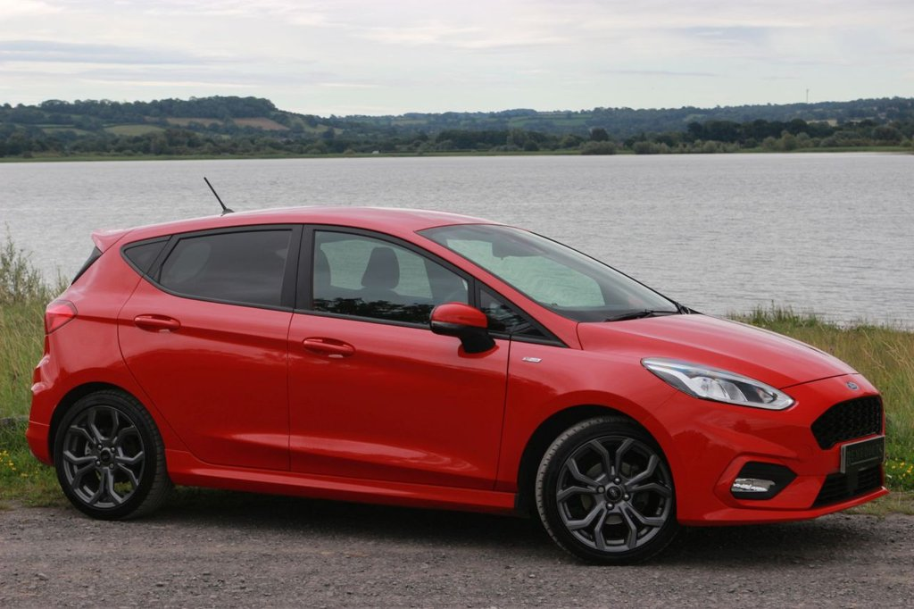 USED 2018 18 FORD FIESTA 1.0 ST-LINE 5d 99 BHP