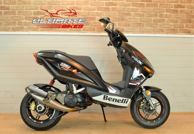 USED 2012 62 BENELLI 49 X MOPED SCOOTER 50 CC