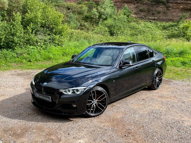 USED 2016 16 BMW 3 SERIES 2.0 320D M SPORT 4d 188 BHP SUNROOF/SAT NAV /LEATHER