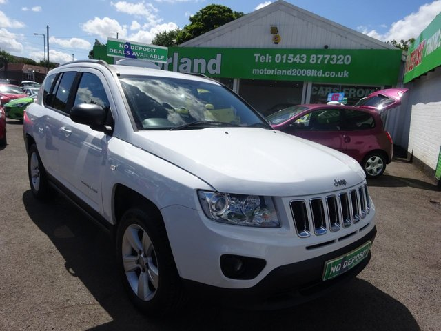 USED 2011 61 JEEP COMPASS 2.0 SPORT 5d 154 BHP **JUST ARRIVED ...NO DEPOSIT FINANCE ..